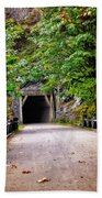 The Tunnel On The Scenic Route Beach Towel