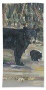 Cubs - Bears - Goldilocks And The Three Bears Beach Towel