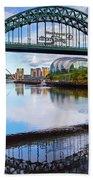 The Tyne Road Bridge With The Sage Beach Sheet