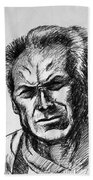 Clint Eastwood Beach Towel