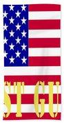 The United States Coast Guard Beach Towel