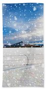 The Unwilling Winter Beach Towel