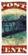 The Upside Down Biplane Stamp - 20130119 Beach Sheet