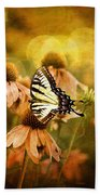The Very Young At Heart Beach Towel by Lois Bryan