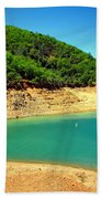 The View At Shasta Lake Beach Towel