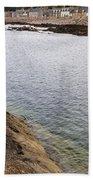 The Village Of Portessie Beach Towel