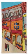 The Walled City Beach Towel