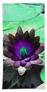 The Water Lilies Collection - Photopower 1113 Beach Towel