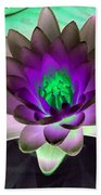 The Water Lilies Collection - Photopower 1114 Beach Towel