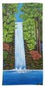 The Waterfall Beach Towel
