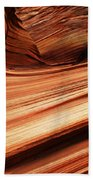 The Wave Layers Of Time Beach Towel