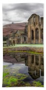 The Welsh Abbey Beach Towel by Adrian Evans