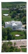 The White House Beach Towel by Carol Highsmith