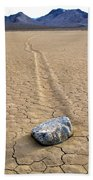 The Winner Death Valley Moving Rock Beach Towel