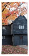 The Witch House Of Salem Beach Towel