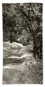 The Wooded Path Beach Towel