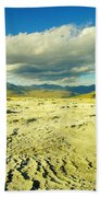 The Yellow Rock Of Yellowstone Beach Towel
