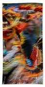Their Spirit Is Among Us - Nanticoke Powwow Delaware Beach Towel