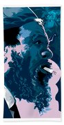 Thelonius Monk Beach Towel