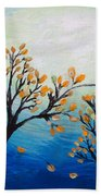 There Is Calmness In The Gentle Breeze Beach Towel