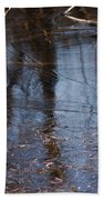 Thin Ice Of A New Day Beach Towel