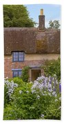 Thomas Hardy's Cottage Beach Towel by Joana Kruse