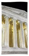 Thomas Jefferson Memorial At Night  Beach Towel