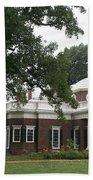 Thomas Jeffersons Monticello Beach Towel