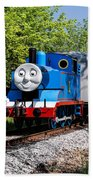 Thomas Visits The Cvnp Beach Towel