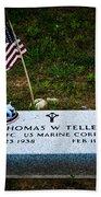 Thomas W. Teller Beach Towel