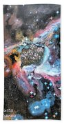 Thor's Helmet Nebula Beach Towel