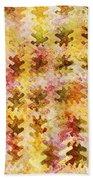 Those Autumn Leaves Beach Sheet