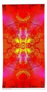 Thoughts Of Love And Light Transforming Beach Towel