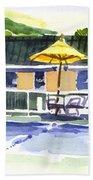 Three Amigos With Orange Beach Ball Beach Towel by Kip DeVore