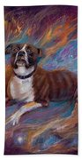 If Dogs Go To Heaven Beach Towel
