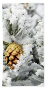 Three Frosty Cones Beach Towel