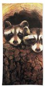 Three Is A Crowd Beach Towel