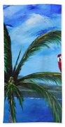 Three Parrots Beach Towel