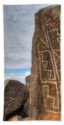 Three Rivers Petroglyphs 4 Beach Towel