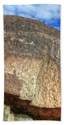 Three Rivers Petroglyphs 6 Beach Towel