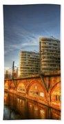 Three Towers Berlin Beach Towel