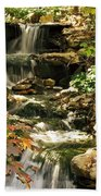 Three Water Falls Beach Towel