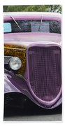 Three Window Coupe Beach Towel