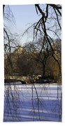 Through The Branches 1 - Central Park - Nyc Beach Towel