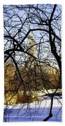 Through The Branches 3 - Central Park - Nyc Beach Towel