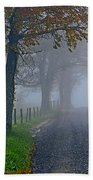 Through The Fog Beach Towel