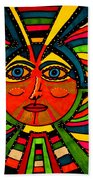 Through The Prism Of The Sun Beach Towel