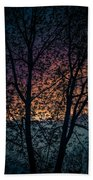 Through The Tree Beach Towel