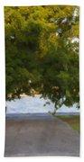 Through The Tree's Beach Towel