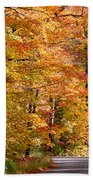 Through The Woods By D. Perry Lawrence Beach Towel